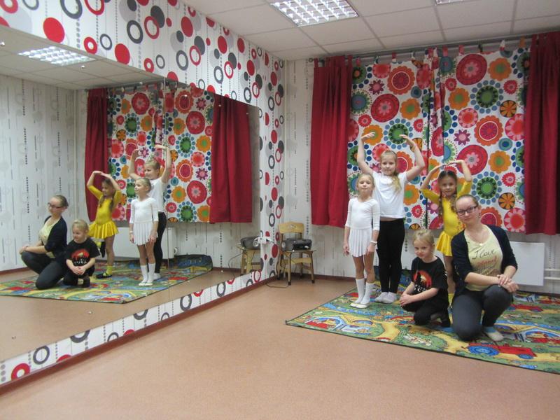 Набор детей на занятия ритмикой и хореографией