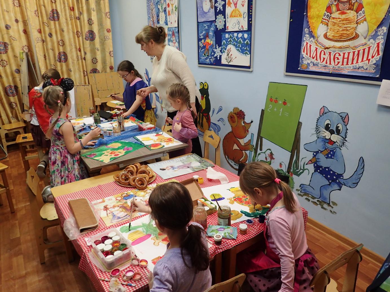 Тематические занятия и мастер-класс к празднику Масленица
