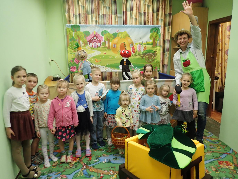 Детский праздник с интерактивным кукольным спектаклем