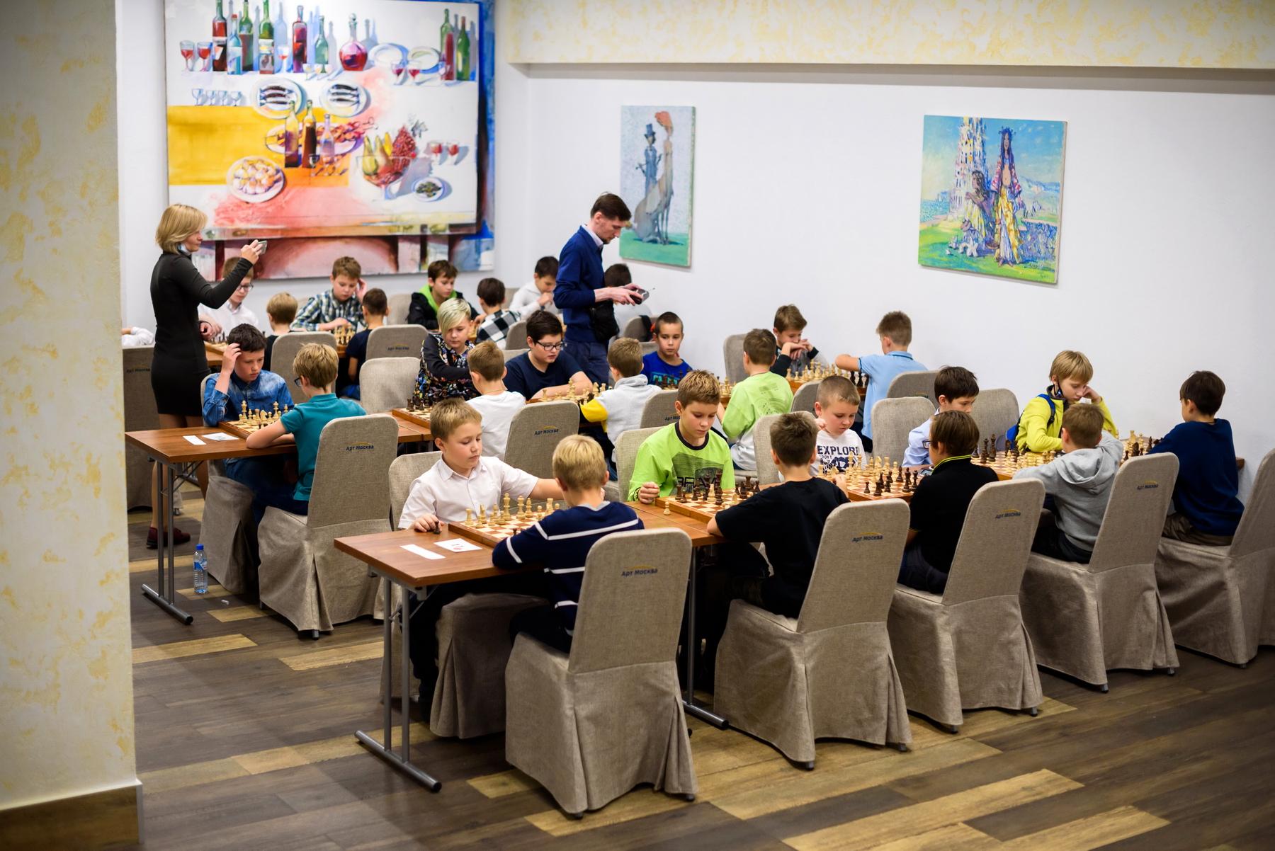 Командное первенство Москвы по шахматам